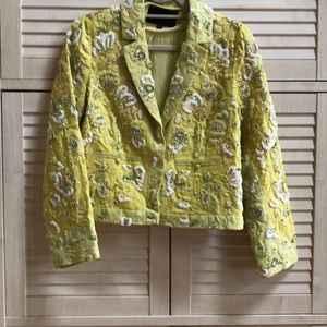 Jcrew beaded collection blazer size 6